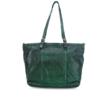 Borragine Special Shopper smaragdgrün