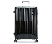 Riccione 4-Rollen Trolley schwarz cm