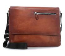 Domus Laptop Messenger 12″ cognac