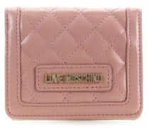 New Quilted Geldbörse pink