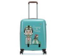 Lil'Ledy 4-Rollen Trolley türkis 54 cm