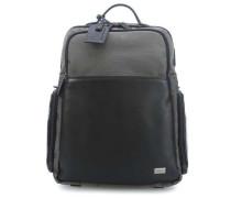 Monza Rucksack 15.6″ grau/schwarz
