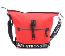 Nylon Roots Small Challenge Handtasche rot