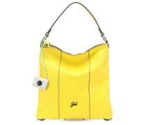 Black Sofia M Beuteltasche gelb