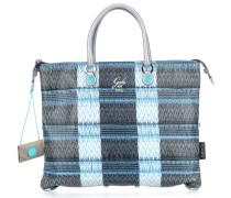 Trip G3 Plus M Handtasche schwarz/blau