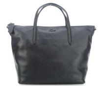 L1212 Cuir Handtasche schwarz