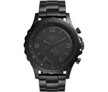Q Nate Hybrid-Smartwatch schwarz
