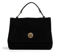 Liya Suede Handtasche schwarz