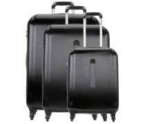 Maputo 4-Rollen Trolley Set schwarz