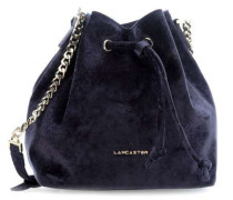 Velvet Bucket bag dunkelblau