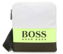 Pixel Handtasche weiß/grün