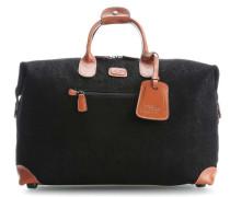 Life Reisetasche schwarz
