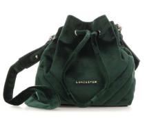 Actual Velvet Couture Treasure Bucket bag grün