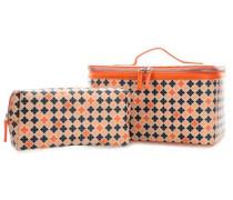 Kulturbeutel orange 27 cm