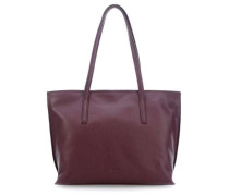 Cary 5 Shopper aubergine