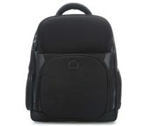 Quarterback Premium Laptop-Rucksack 17″ schwarz