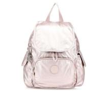 Basic Plus City Pack Mini Rucksack metallic pink