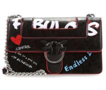 Love Fabulous Schultertasche schwarz