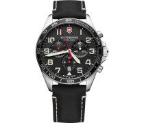 FieldForce Swiss Army Chronograph schwarz/silber