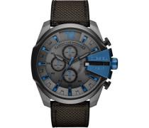 Mega Chief Chronograph grau/blau
