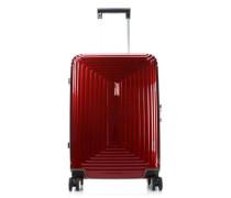 Neopulse 4-Rollen Trolley rot metallic 55 cm
