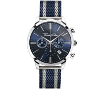 Rebel Spirit Chronograph silber/blau