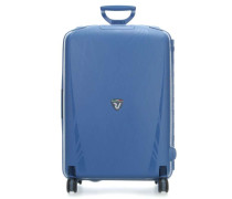Light 4-Rollen Trolley blau