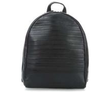 Packgirl Lagen Rucksack schwarz