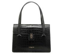 Exotic Croco Handtasche schwarz