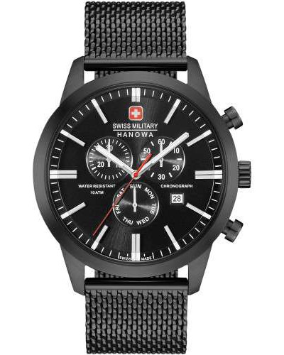 Swiss Military Hanow Classic Chronograph schwarz