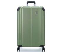 City 4-Rollen Trolley grün 77 cm