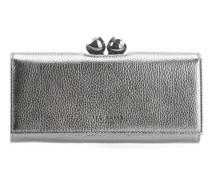 Muscovy Geldbörse silber metallic