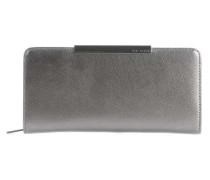 Pelle Geldbörse silber metallic