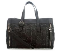 Quilt QUSatchL Handtasche schwarz