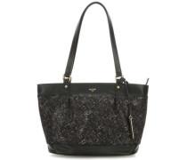 Mosaic Handtasche schwarz