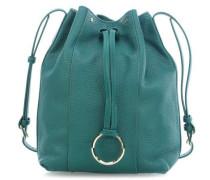 Heavy Pebble M Bucket bag smaragdgrün