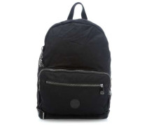 Basic Elevated Niman Fold Rucksack schwarz