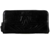 Lyra Geldbörse schwarz metallic