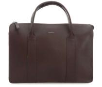 Leather Classic Alice Handtasche 13″ dunkelbraun
