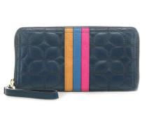Logan RFID Geldbörse blau