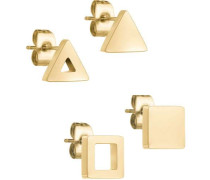 Set Ohrringe gold
