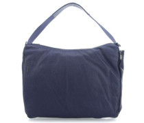Mellow Leather Beuteltasche dunkelblau