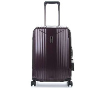 7R 4-Rollen Trolley violett 55