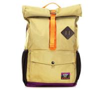 Export Rolltop Rucksack 14″ gelbgrün