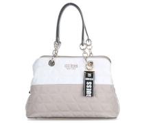 Laiken Handtasche natur/weiß