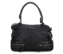 Lockvogel Handtasche schwarz