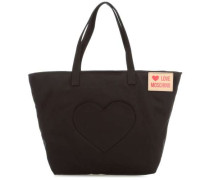 Heart Pocket Shopper schwarz
