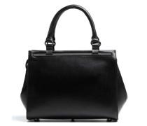 Madame Chic Fleur Handtasche schwarz