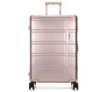 Alumo 4-Rollen Trolley metallic pink cm