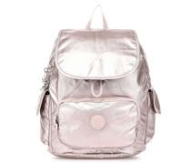 Basic Plus City Pack S Rucksack metallic pink